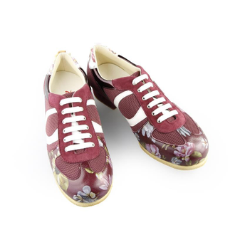 Sneakers women sport flower