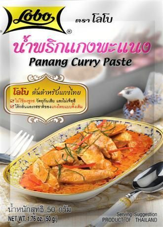 Panang Curry Paste (Lobo) 50 g