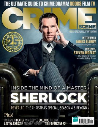 CRIME SCENE Magazine September 2015 Sherlock, Benedict Cumberbatch Cover ИНОСТРАННЫЕ ЖУРНАЛЫ О КИНО