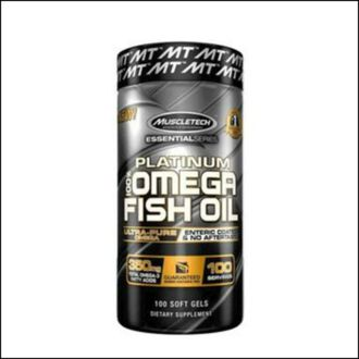 Омега 3 MuscleTech Platinum 100% omega fish oil 100 soft gels
