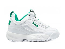 Кроссовки FILA DISRUPTOR 2 White Green (36-45)