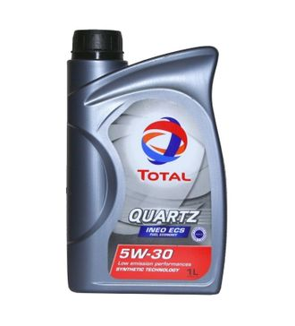 Масло TOTAL Quartz INEO ECS SAE 5/30 мот.синт. 1л, кат.№ 80079
