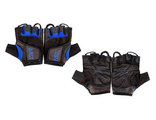 Перчатки мужские  MEX M-FIT men's gloves black/blue