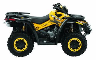G1 BRP can-am 400 650 800 outlander XC #911