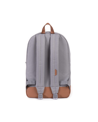 Herschel Heritage Gray/Tan Synthetic Leather спина