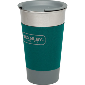 Стакан Stanley Adventure SS Pint, 0.47L зеленый