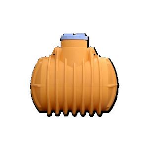 Подземная пластиковая емкость для канализации