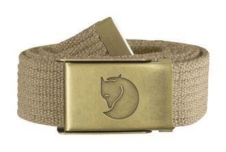 Fjallraven Canvas Brass Belt 3 cm Sand