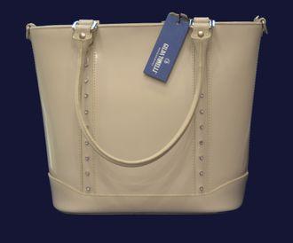 482d94d82341 Бежевая сумка Gilda Tonelli Италия в магазине итальянских сумок