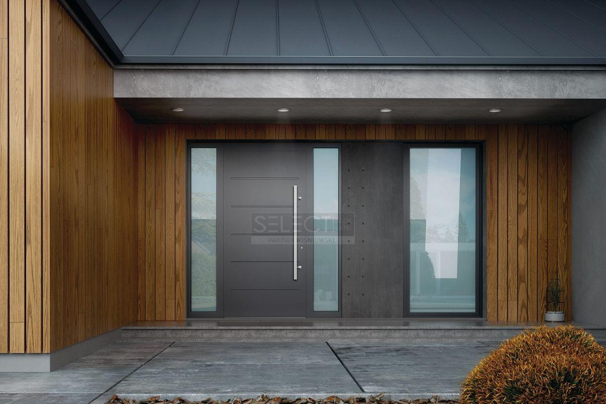 дизайн современной входной двери в частный дом - подобрать модель европейского производства