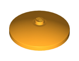 Dish 4 x 4 Inverted Radar with Solid Stud, Bright Light Orange (3960 / 6003002)