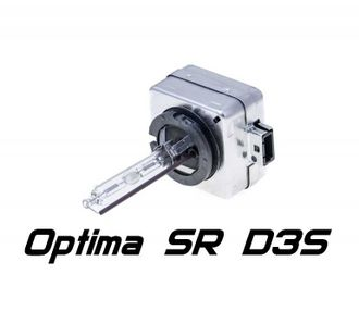 Ксеноновая лампа D3S 4300K Optima Service Replacement (35W, 3200Lm), 1шт