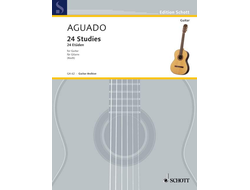 Aguado,  24 Studies for Guitar