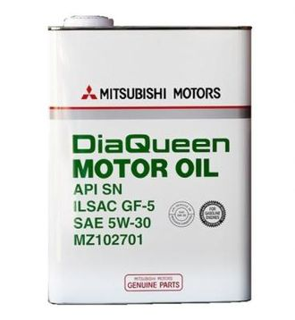 Моторное масло MITSUBISHI Dia Queen Motor Oil SAE 5W-30 API SN/GF-5 (4л)