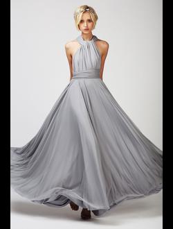 470b846a367 Платье трансформер на выпускной купить - NAOMI FATIN Slim - Серое. В наличии