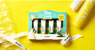 Набор кремов Dr. Jart Play Cera Cream Beginner's Kit (Ceramidin cream 15ml*2ea+Cica Cream 15ml*2ea)