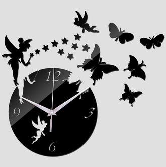 часы настенные зеркальные