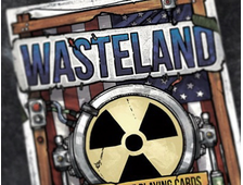 Radioactive Edition. Wasteland 2 Playing Cards