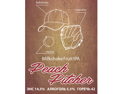 Peach Pitcher Milkshake Fruit IPA 5,5% IBU 42 0,5л SelfMade Brewery