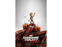 Постер The Guardians of Galaxy 2/Стражи Галактики (Groot) PP34158