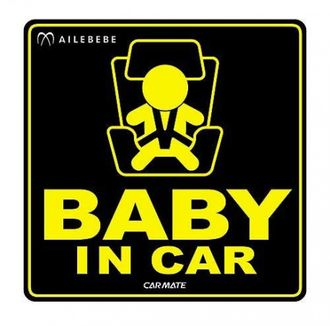 Наклейка child in car sticker (bb611)