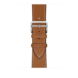 Apple Watch Hermès Series 3 38мм with single tour fauve barenia leather
