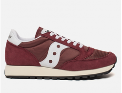 Кроссовки Saucony Jazz Original Vintage Burgundy White