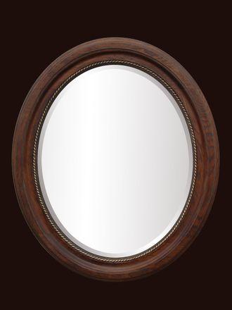 овальные круглые и фигурные зеркала в раме овальное