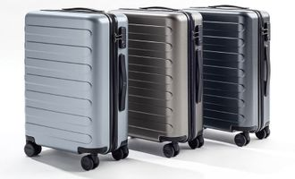 "Чемодан Xiaomi 90 Points Seven Bar Suitcase 24"" 65 л синий"