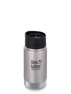 Термобутылка Klean Kanteen Insulated Wide 12oz (355 мл) Brushed Stainless