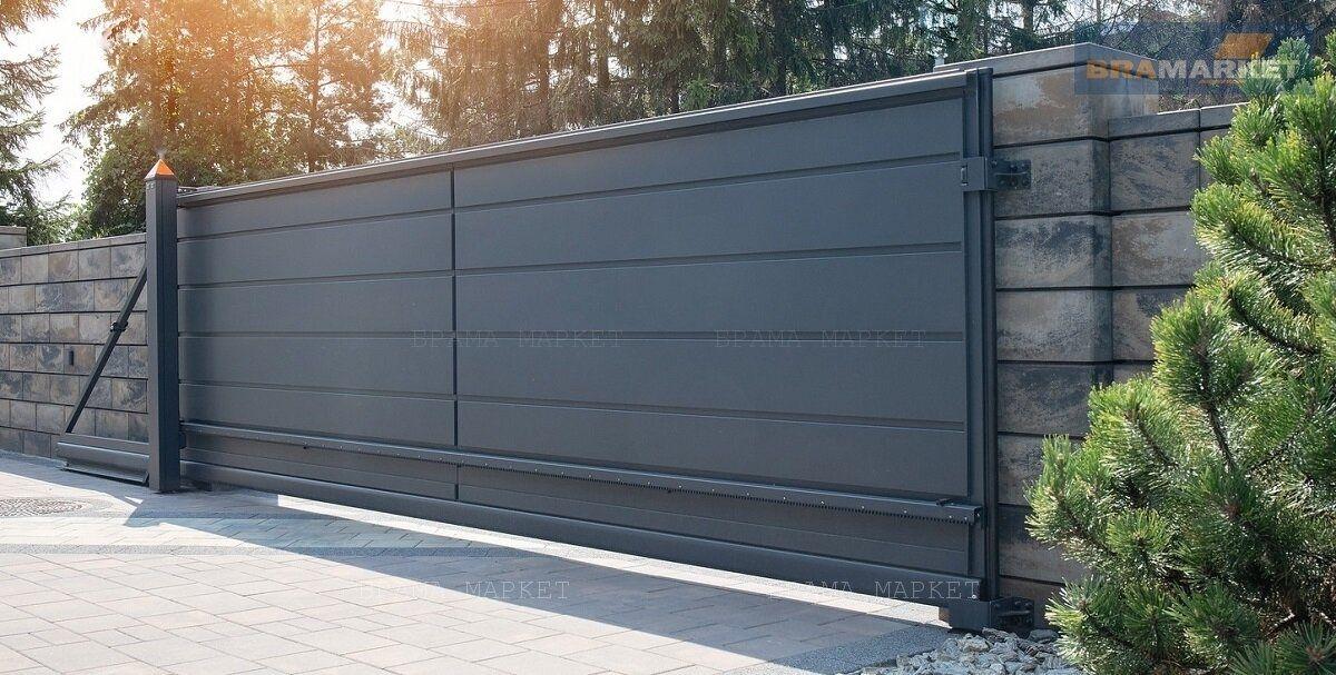 производство ворот - установка уличных откатных и распашных конструкций - цена