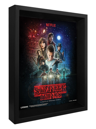 3D картина Stranger Things: One Sheet Странные дела