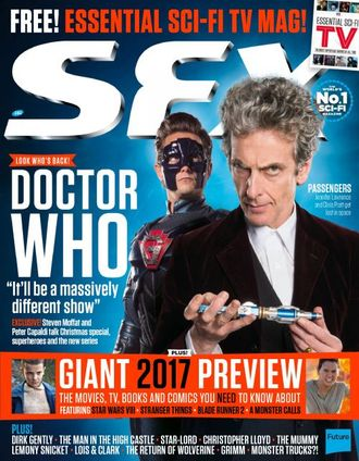 SFX Magazine February 2017 Doctor Who Cover ИНОСТРАННЫЕ ЖУРНАЛЫ О КИНО, INTPRESSSHOP