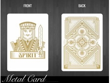 White Spirit Metal Card - металлическая карта