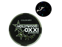 Глитерный гель OXXI Professional Hollywood №1, 5гр