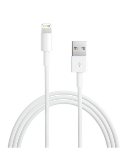 Кабель Apple Lightning 1m для iPhone MD818ZM/1 (оригинал)