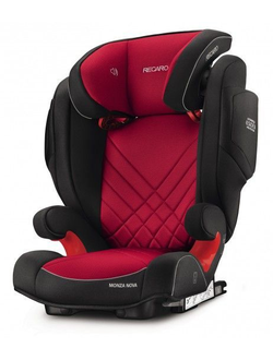 RECARO MONZA NOVA 2 SEATFIX Racing Red