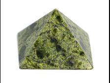 Пирамида Змеевик, Россия, Урал (32*32*22 мм, 20 г) №20669