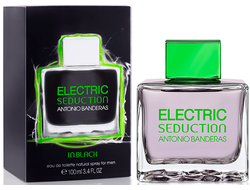 Electric Seduction In Black for Men Antonio Banderas туалетная вода