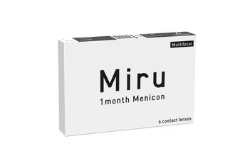Miru 1 Month Multifocal (-3)