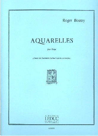 ТBoutry Aquarelles for Harp