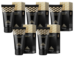 Titan Gel Gold special gel for men (5 pieces)