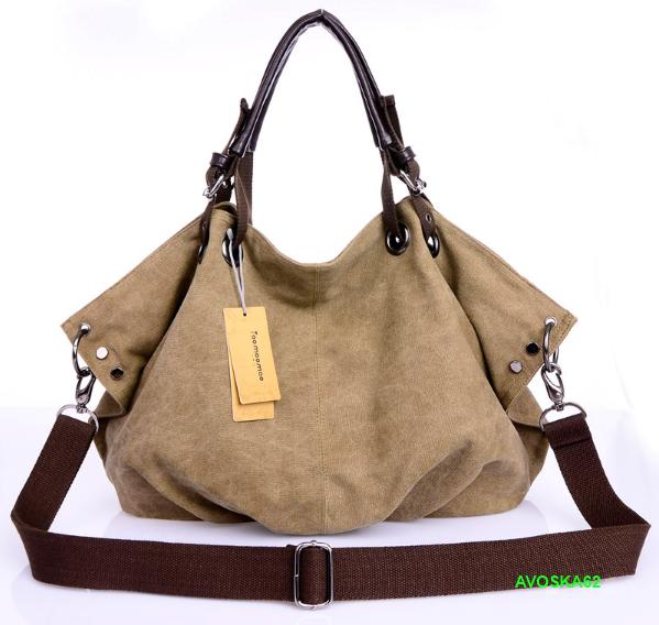 d5163f27293a Большая сумка женская летняя: тканевая с длинными ручками и ремнем