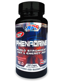 Жиросжигатель APS Nutrition Phenadrine v.2.0 60 caps