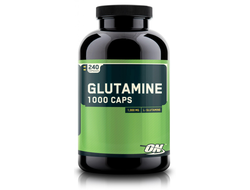 OPTIMUM NUTRITION GLUTAMINE CAPS 1000 MG - 240 КАПСУЛ