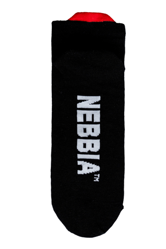 "Носки NEBBIA ""SMASH IT"" ankle length socks 102 Черные"