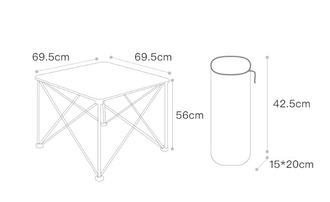 Стол раскладной Xiaomi Early wind outdoor folding table