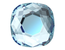 Swarovski Мягкий квадрат 5 mm Aquamarine - 4 шт