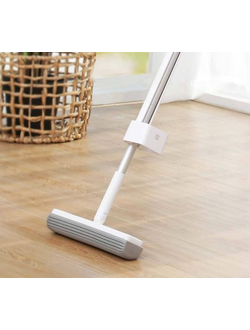 Швабра Xiaomi Blue fish 180° cotton mop