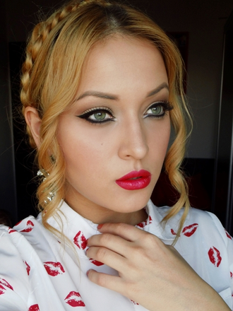 Стойкая помада - блеск E.L.F. Studio Lip Stain 82508 Red Carpet